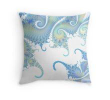 Paisley Tails - Fractal Throw Pillow