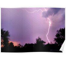 RAIN, THUNDER AND LIGHTENING Poster