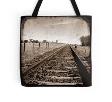 Track to Nowhere Tote Bag