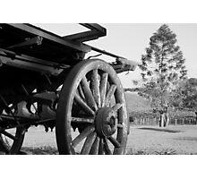 Retired Wagon  Photographic Print