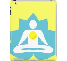 Ron Swanson's yoga tank top. iPad Case/Skin