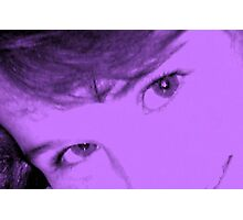 Purple.. Photographic Print
