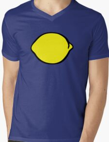 Lemon Mens V-Neck T-Shirt
