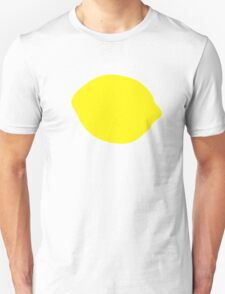 Yellow lemon Unisex T-Shirt