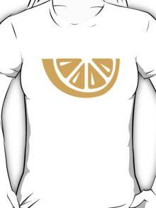 Yellow lemon slice T-Shirt