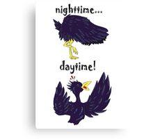 Nighttime...Daytime! Canvas Print