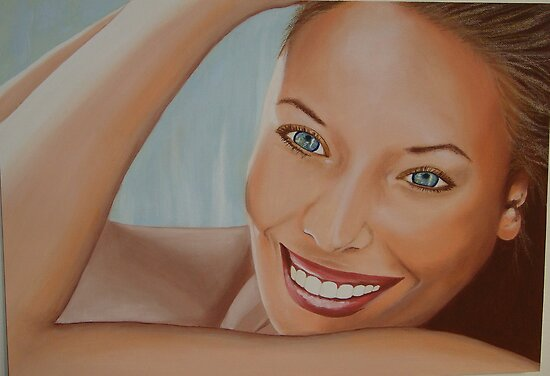 Le sourire by Colombe  Cambourne