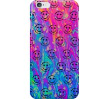 Psychedelic Smiley  iPhone Case/Skin