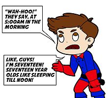 Whiny Bucky-words by Oona Oceana