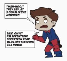 Whiny Bucky-words Kids Clothes