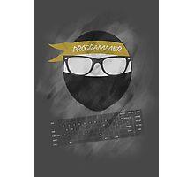 programmer ninja Photographic Print