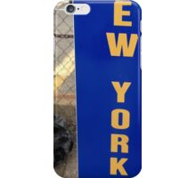 Ew York iPhone Case/Skin