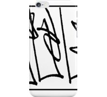 abstract drawing iPhone Case/Skin
