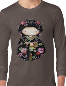 Little Green Teapot for colour  Long Sleeve T-Shirt
