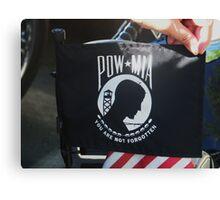 MIA /POW Canvas Print