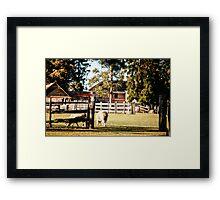 Bella Vista House,  Framed Print