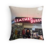 Great place for bargain Throw Pillow