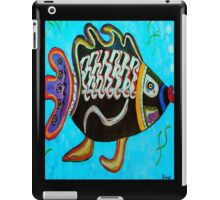 """BANDIT - the fish that """"resurfaced"""" from the flames iPad Case/Skin"""