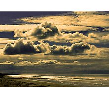Skyscape - Pines Beach, NZ Photographic Print