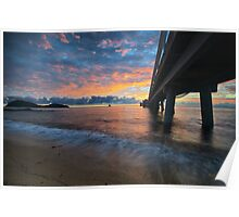 Daybreak at Palm Cove Jetty Poster