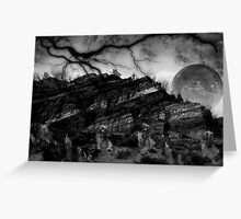 Destruction of the Earth Greeting Card