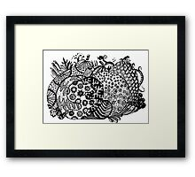 Fruit 2 - Aussie Tangle (See Description for Background Colour Options). Framed Print