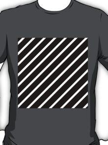 Beautiful Cushions/Stripe/ Black White T-Shirt