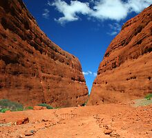 Inside The Olgas by tracyleephoto