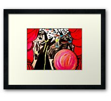 "WIZARD OF OZ WICKED WITCH, ""FLY"" Framed Print"