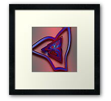 Contrasts attracts each other Framed Print