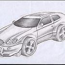 CAR SKECTH 2 by chenjema
