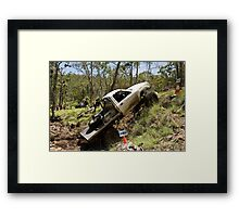 Tough Tracks Rd 1 2008 Framed Print