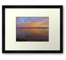 Colaboration with Martin Becker Framed Print