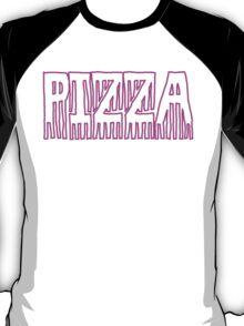Pizza Word Art Design T-Shirt