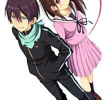 Yato and Hiyori by Revoltec17