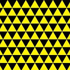 Yellow triangles by jazzydevil