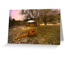 Lavender Haze - Hill End - The HDR Series Greeting Card