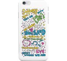Thinking Out Loud iPhone Case/Skin