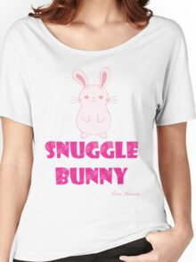 SNUGGLE BUNNY Women's Relaxed Fit T-Shirt