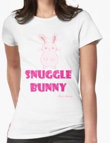 SNUGGLE BUNNY Womens Fitted T-Shirt