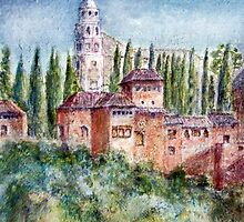 Moorish Alhambra by Colin Cartwright