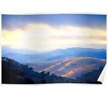 Morning - Hill End - The Non HDR Series Poster