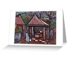 The village well Greeting Card