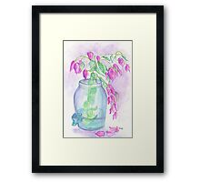 Flagler Beach Bougainvillea Framed Print