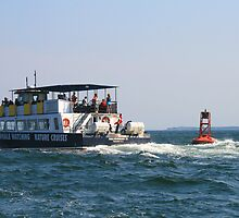 Whale Watching Tour Boat by HALIFAXPHOTO