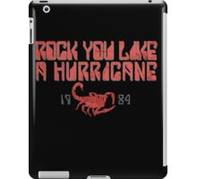 Rock You Like A Hurricane iPad Case/Skin