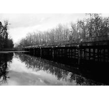 Bridge at Brewington Swamp, Manning SC Photographic Print