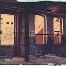 Armstrong Cork Factory - Self Portrait #3 by Steven Godfrey