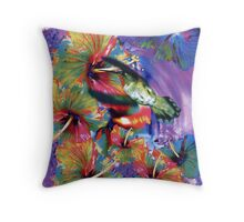 Tropical Energy Throw Pillow