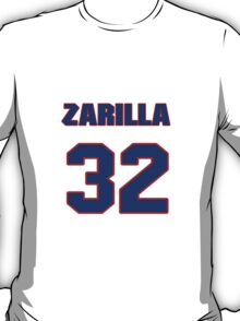 National baseball player Al Zarilla jersey 32 T-Shirt